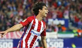 Tiago regressa aos convocados do At. Madrid quatro meses depois