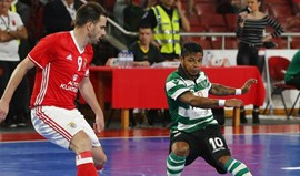 Futsal: Empate do Sporting na Luz confirma 1.º lugar na fase regular