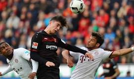 Bayern Munique travado em casa do Bayer Leverkusen
