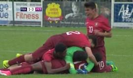 Portugal conquista Torneio Internacional de Montaigu