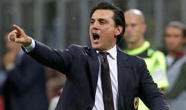 Vincenzo Montella discute futuro com novos homens fortes do futebol do AC Milan