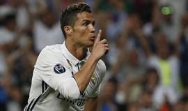 Ronaldo mandou calar adeptos do Real no primeiro golo?