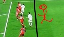 A crítica hilariante de Vidal aos golos de Ronaldo