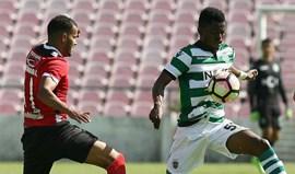 Penafiel-Sporting B, 2-1: Primeira derrota dos leões com Luís Martins ao leme