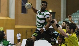 Sporting vence campeão ABC (31-26)