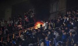 Danos em 450 cadeiras provocados por adeptos portistas em Braga