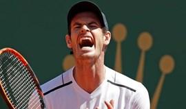 Monte Carlo: Andy Murray eliminado por Ramos-Vinolas na 3.ª ronda