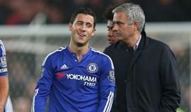Hazard: «Estive sempre ao lado de Mourinho»