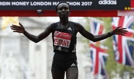 Mary Keitany vence maratona de Londres