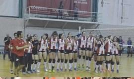 Campeonato feminino: Leixões bate Porto Vólei 2014 no primeiro jogo do playoff