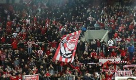 Grécia: Olympiacos terá de jogar quatro jogos à porta fechada
