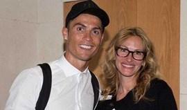 A mensagem de Cristiano Ronaldo para Julia Roberts