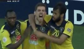 Ricardo Machado falha penálti mas dá empate (4-4) nos descontos