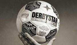Já ouviu falar da Derbystar? Será desta marca a bola da Bundesliga 2018/19...