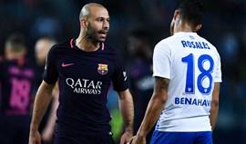 Fez-se história: Mascherano marcou o primeiro golo pelo Barcelona