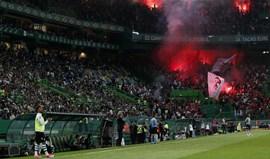Cânticos e pirotecnia: Sporting paga mais 611 euros do que o Benfica em multas