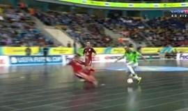 Mais um golo 'absurdo' de Ricardinho que colocou o Inter a jogar com o Sporting