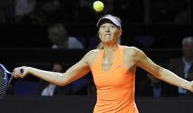 Maria Sharapova nas meias-finais do torneio de Estugarda