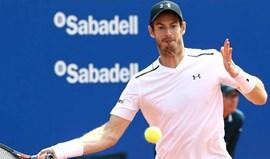 Andy Murray eliminado nas meias-finais do torneio de Barcelona