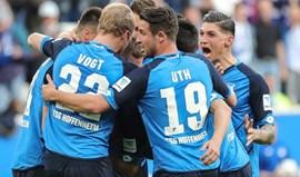 Hoffenheim vence e tira Dortmunddo pódio