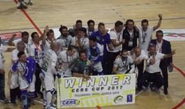 Governo felicita Óquei de Barcelos pela vitória na Taça CERS