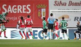 A crónica do Sp. Braga-Sporting, 2-3: Três trovões na Pedreira