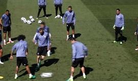 Pepe, Fábio Coentrão e Bale falham jogo com Atlético Madrid
