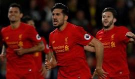 Golaço de Emre Can dá vitória ao Liverpool
