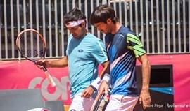 Estoril Open: Frederico Silva e Gastão Elias eliminados em pares