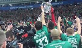Rússia: Lokomotiv Moscovo conquista Taça da Rússia