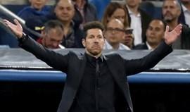Diego Simeone continua a acreditar numa 'remontada'