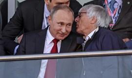Ecclestone volta a elogiar Putin, presidente que fez muito pela paz mundial
