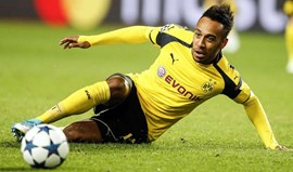 Pierre-Emerick Aubameyang pode estar a caminho do Paris Saint-Germain