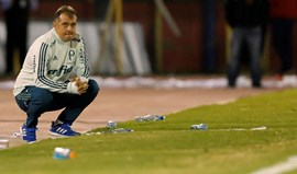 Palmeiras despede treinador após derrota na Taça Libertadores