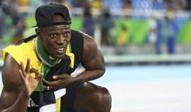 Usain Bolt quer ser um dos 50 melhores do Mundo no... futebol