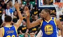 Warriors vencem em Utah e estão a um triunfo da final do Oeste da NBA