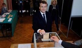 Eleições em França: Átrio onde Macron quer celebrar foi evacuado