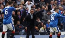 Escócia: Golo nos descontos dá triunfo ao Rangers de Caixinha