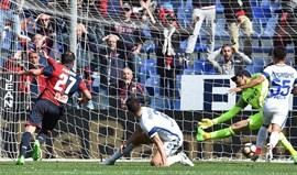 Génova vence Inter e agrava crise dos nerazzurri