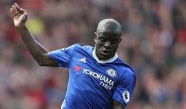 N'Golo Kante eleito jogador do ano para a imprensa inglesa