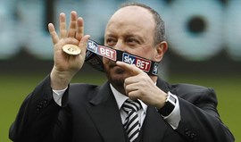 Newcastle diz estar a preparar regresso à Premier League com Benítez