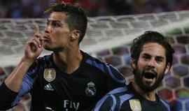 Isco marcou e Ronaldo... mandou calar o Vicente Calderón