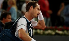 Murray eliminado do Masters 1000 de Madrid