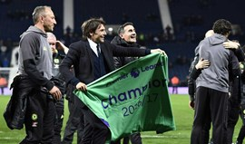 Antonio Conte destaca época fantástica do Chelsea campeão