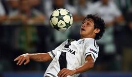 Guilherme na lista do Sporting