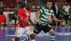 Futsal: Benfica vence Sporting nos penáltis e está na final da Taça