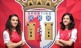 Dolores Silva e Laura Luísreforçam Sp. Braga