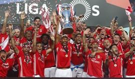 Benfica no pódio dos clubes europeus com mais títulos nacionais