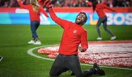 Famosos orgulhosos do Benfica