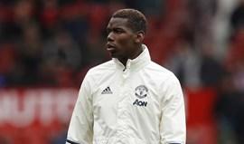Pogba desfalca United frente ao Tottenham devido a morte do pai